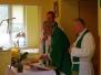 18.06.2017- Msza św. w Zakładzie Opiekuńczo-Leczniczym w Nieborowie z okazji Jubileuszu 60 lat święceń kapłańskich ks. prał. Tadeusza Ciska